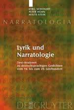 Jörg Schönert, Peter Hühn, Malte Stein, Lyrik und Narratologie