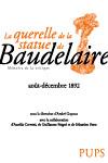 A. Guyaux (éd.), La Querelle de la statue de Baudelaire