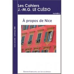 A propos de Nice, Cahiers Le Clézio n°1
