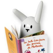 Comment faire lire un livre à un lapin?