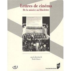 Lettres de cinéma - de la missive au film-lettre, Nicole Cloarec (dir.)