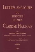 S. Richardson, Lettres angloises ou histoire de Miss Clarisse Harlove