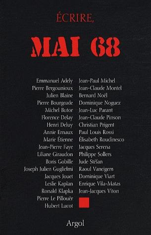 Ecrire, mai 68