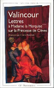 Valincour, Lettres sur la Princesse de Clèves
