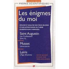 S. Bogaert, E. Kern, A. Kern-Boquel, Les Enigmes du moi