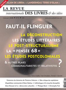 Revue internationale des livres et des idées, n°5, mai-juin 2008