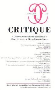Critique n°731