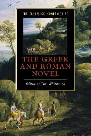 The Cambridge Companion to the Greek and Roman Novel, T. Whitmarsh (ed.)