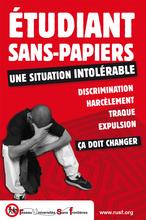 Réseau Universités Sans Frontières: parrainages de sans-papiers en milieu universitaire (France).