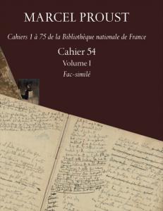 Proust, Cahier 54 (2 vol.)