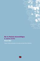 R. Ghil, De la Poésie-Scientifique & autres écrits