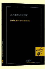 O. Schefer, Variations nocturnes.