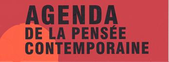 Agenda de la pensée contemporaine n° 10, printemps 2008