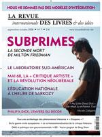En kiosque: Revue Internationale des Livres et des Idées (RILI) n° 7 (sept-oct 2008)