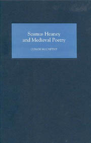 C. McCarthy, Seamus Heaney and Medieval Poetry
