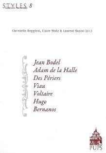 C. Reggiani, C. Stolz & L. Susini (dir.), Styles, genres, auteurs. Volume 8 (Agrégation 2009)