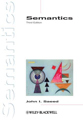 J. I. Saeed, Semantics