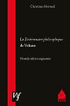 Chr. Mervaud, Le Dictionnaire philosophique de Voltaire (Agrégation 2009)
