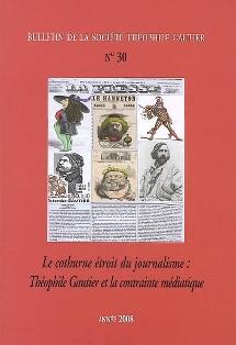 M. Lavaud et M.-E. Thérenty (éd), Théophile Gautier et la contrainte médiatique