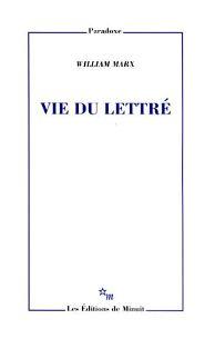 W. Marx, Vie du lettré