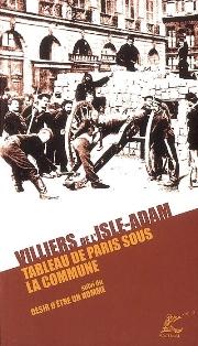 Villiers de l'Isle-Adam, Tableau de Paris sous la Commune (édition)