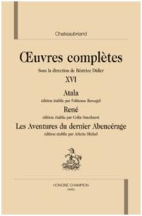 B. Didier (éd.), Oeuvres Complètes de Chateaubriand, volume XVI.