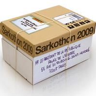 Sarkothon 2009 <em>(Le Nouvel Obs</em>, 21/01/2009)