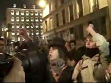 La Sorbonne occupée par 200 étudiants, évacués par la police dans la nuit du 19 au 20/2/9 (revue de Presse, vidcasts)