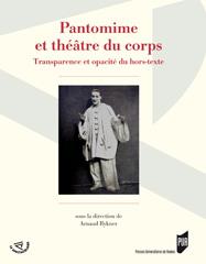 A. Rykner (dir.), Pantomime et théâtre du corps