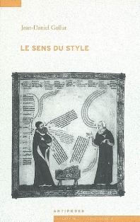 J.-D. Gollut, Le Sens du style