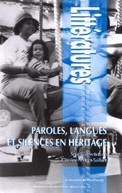 C. Andriot-Saillant (dir.), Paroles, langues et silences en héritage