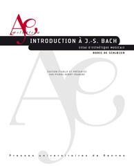 B. de Schloezer, Introduction à J.S. Bach. Essai d'esthétique musicale