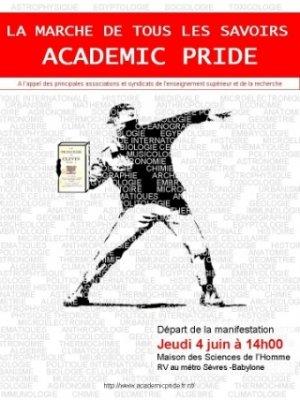 4 juin 2009: Marche de Tous les Savoirs (<em>Academic Pride</em>)