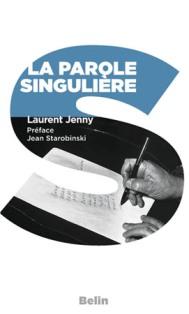 L. Jenny, La Parole singulière (réédition poche)