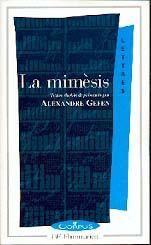 A. Gefen, La Mimèsis