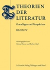 G. Butzer, H. Zapf (dir.), Theorien der Literatur (IV)