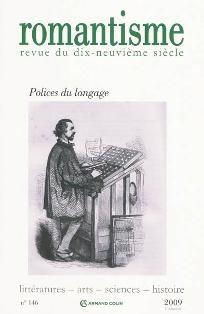 Romantisme n°146 : Polices du langage