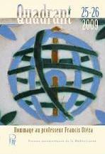 Quadrant. Revue du Centre de Recherche en Littératures de Langue Portugaise, n°25-26
