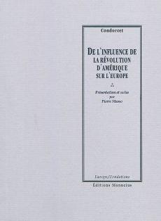 Condorcet, De l'Influence de la Révolution d'Amérique sur l'Europe