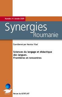 Synergies Roumanie n°4 : Sciences du langage et didactique des langues. Frontières et rencontres
