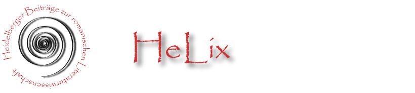 <em>HeLix</em> (Heidelberger Beiträge zur romanischen Literaturwissenschaft) 1-2009