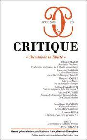 Critique n° 755 : Chemins de la liberté