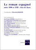 E. Delrue (dir.), Le Roman espagnol entre 1880 et 1920 : état des lieux