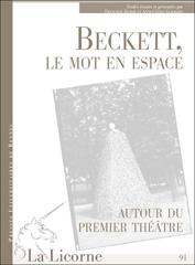 La Licorne n°91 : Beckett, le mot en espace