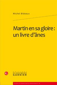 M. Bideaux, Martin en sa gloire : un livre d'ânes