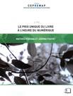 M. Perona, J. Pouyet, Le Prix unique du livre à l'ère numérique