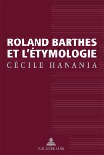 C. Hanania, Roland Barthes et l'étymologie