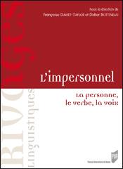 F. Daviet-Taylor, D. Bottineau (dir.), L'impersonnel. La personne, le verbe, la voix
