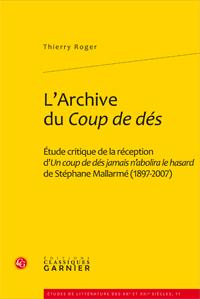 Th. Roger, L'Archive du Coup de dés