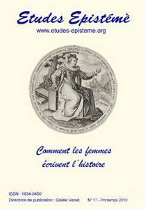 <em>Etudes Epistémè</em>, 17 :